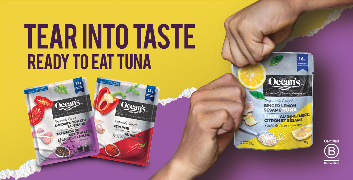 Ocean's Tear into Taste campaign