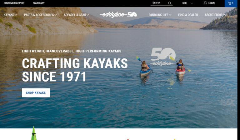 Eddyline Kayas