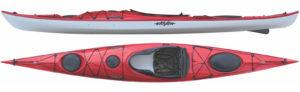 Eddyline Kayak Sitka Side and Top