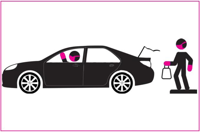 Curbside Pickup illustration